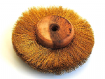 "Buffing Wheel, Crimped Brass, 6"" 150mm, 4 Layer Polishing Mop Brush. X1231"